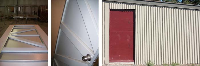 Shed Doors in Australia