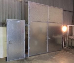 Blast Doors, Cyclonic Doors, Blast-Proof Doors