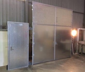 Blast Doors, Cyclonic Doors, Blast-Proof Doors
