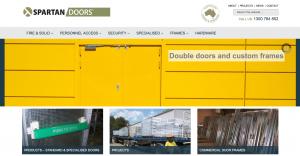 Spartan Doors Website