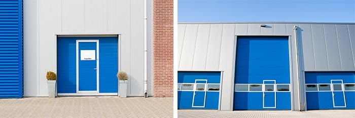 Wicket doors are a great addition for warehouses factories and logistics facilities in Newcastle. & Wicket Doors Newcastle NSW - Spartan Doors