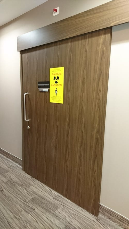 radiation doors