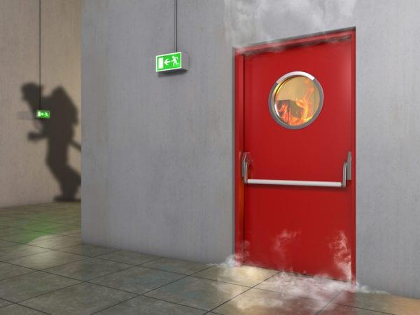 smoke doors