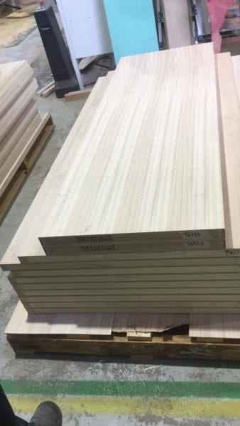 Custom Veneer Fire Doors