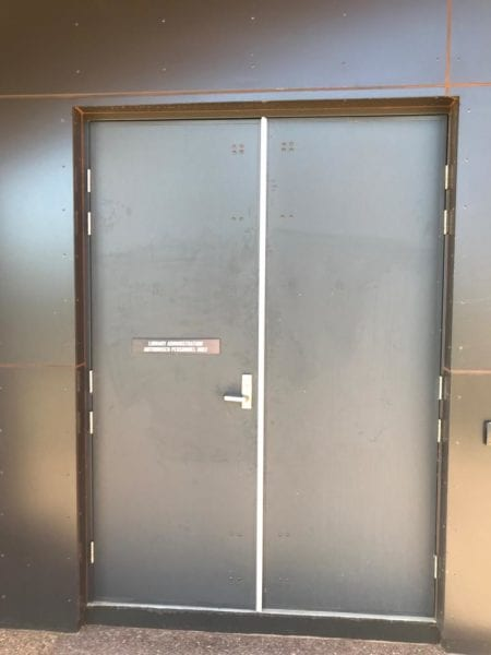 cyclonic doors