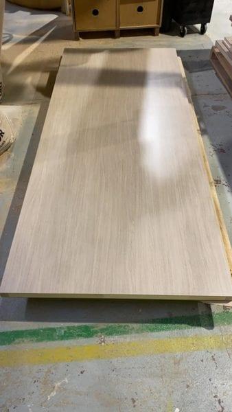 natural ash laminate door