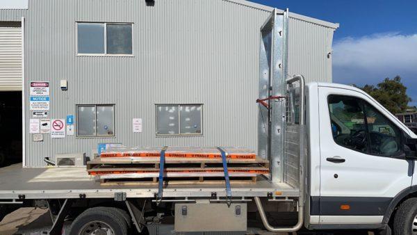 freight unloading